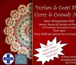 Durban and Coast SPCA Curry & Comedy Night : House of Curries on Florida