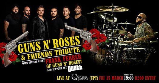 Guns N' Roses Tribute - Hillcrest Quarry - Cape Town : Hillcrest Quarry