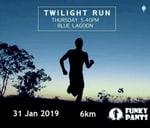 Twilight Run : Blue Lagoon Beach Dur