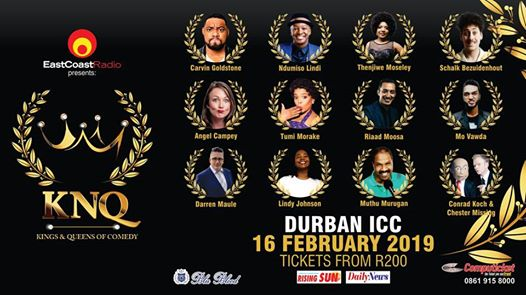 East Coast Radio Kings and Queens of Comedy : Durban ICC