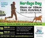 SPCA Heritage Day Trail Run : Giba Gorge MTB Park