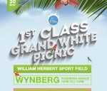 1st Class Grand White Picnic : William Herbert Sports Ground