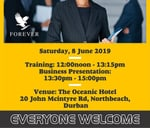 Forever Business Training North Beach - Durban - KZN : The Oceanic