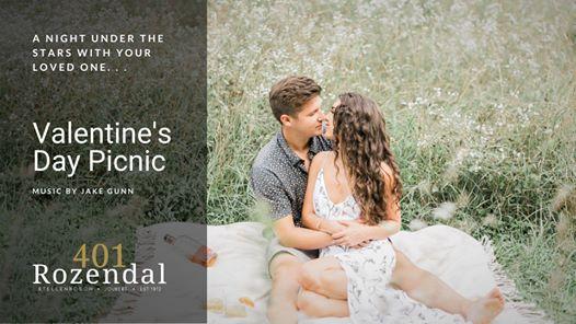 401 Rozendal: Valentine's Day Picnic | Music by Jake Gunn