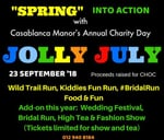 Jolly July 2018 Annual Fun Run And Market : Casablanca Manor Wedding, Function and Conference Venue