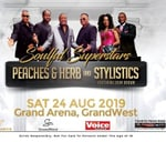 Peaches and Herb and Stylistics featuring Eban Brown : Grand Arena ,GrandWest