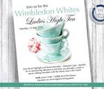 Wimbledon Whites Ladies High Tea : The Bryanston Country Club