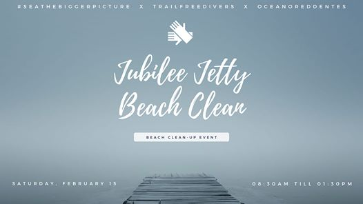 Jubilee Jetty Beach Clean Event : Jubilee Square & Jetty, Simon's Town