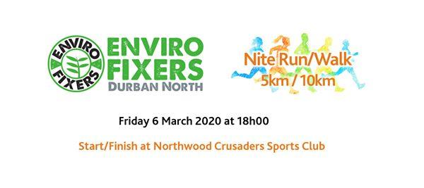 Enviro Fixers Durban North Nite Run/Walk : Northwood Crusaders Sports Club