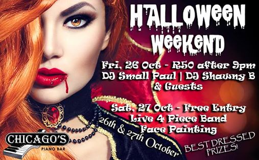 Halloween Weekend DJ's vs Band! : Chicago's Piano Bar Fourways