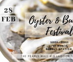The First Annual Oyster & Bubbly Festival 2020 : The Pearls of Umhlanga