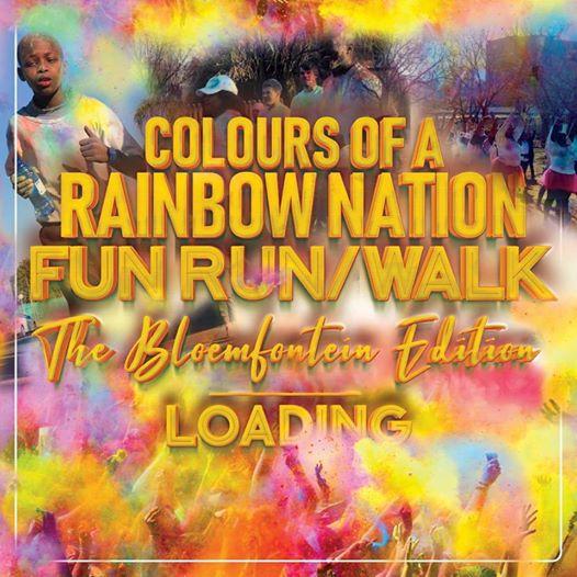 Colours Of A Rainbow Nation Fun Run/Walk - Bloemfontein Edition : Rag Farm,UFS