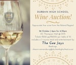 DHS Wine Auction : Durban High School