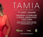 TAMIA Live in South Africa [Cape Town] : Green Point Track, 11 Fritz Sonnenberg Rd, Green Point, Cape Town, 8051