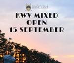 KWV Mixed Open : Durbanville Golf Club