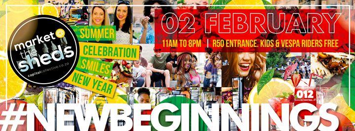 Market@TheSheds 2 February '19 : Market @ the Sheds