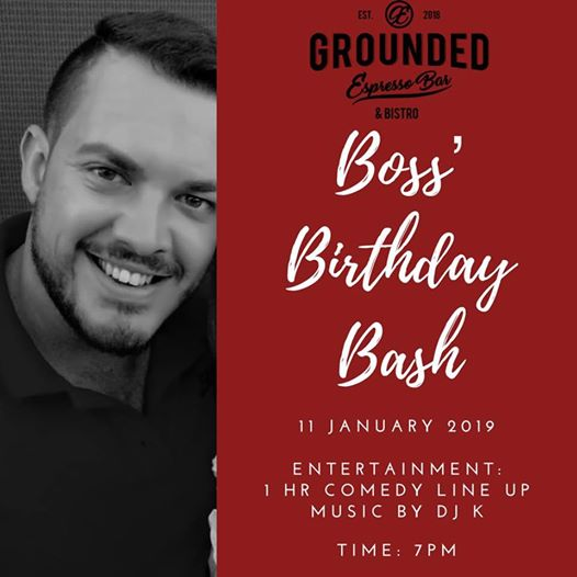 Grounded Live Presents: John & Friend's Bday! : Grounded Espresso Bar & Bistro