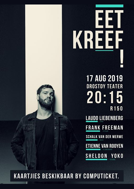 Eet Kreef! in Stellenbosch : Drostdy Teater