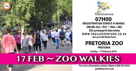Zoo Walkies 10 & 5km : Pretoria Zoo