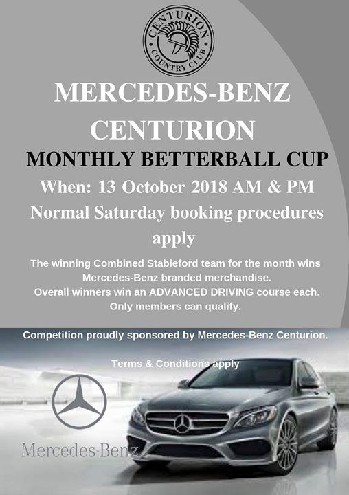 Mercedes-Benz Centurion BB Cup : Centurion Country Club
