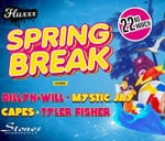 Fluxxx Productions Presents Spring Break Ft. Capes : StonesDurbanville