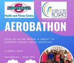Superbodies Aerobathon for South Coast Hospice : Southcoast Mall