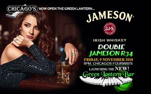 Jameson Party -Launch of Green Lantern Bar : Chicago's Piano Bar Fourways