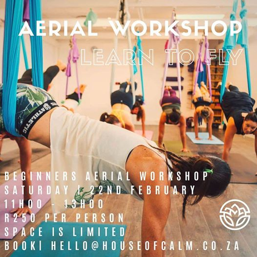 House of Calm: Aerial Yoga Workshop - Learn to Fly (SOLD OUT!)
