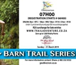 TrailAdventure Barn Trail Run/Walk : The Big Red Barn