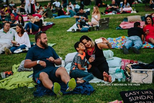 Valentine's Movies in the Park : Riversands Farm Village
