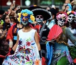 Day of the Dead - margaritas and macabre merriment : Perron