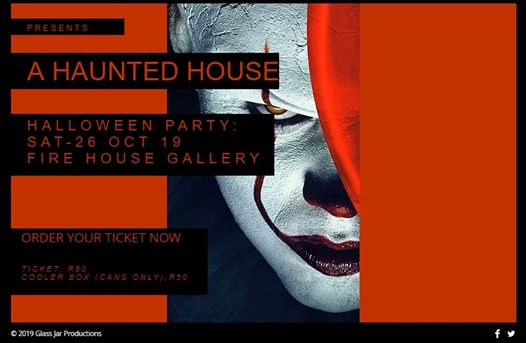 A Haunted House - Halloween party : The Firehouse Gallery and Event Space