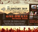 Omi-Draai Musiek Fees January 2019 : Lavender Manor, Beyers Naude