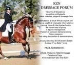 KZN Dressage FORUM : KwaZulu Natal Dressage