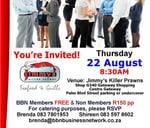 BBN Umhlanga Business Network Meeting : Jimmy's Killer Prawns (Gateway)