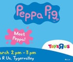 Meet Peppa Pig at Toys R Us Tyger Valley Centre : Tyger Valley Centre