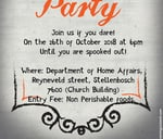 NACSS Halloween Party! : Stellenbosch Department of Home Affairs