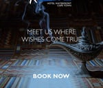 New Years Eve - Aladdin's Cave of Wonders or Arabian Nights : Radisson Blu Hotel Waterfront, Cape Town