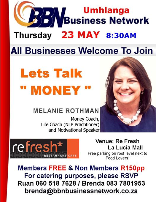 BBN Umhlanga Business Network Meeting : Refresh Restaurant Cafe