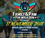 Family&Paw Fun Walk or Run : Smuts Irene River