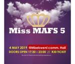 Miss MAFS 5 : Paarl - Mbekweni Community Hall