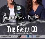 Top 20 Toer - Willem Botha & Franja du Plessis : The Bay Pasta Co.