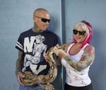 Behind the Scenes with Simon & Siouxsie, SA's Snake Wranglers : Cape Union Mart Adventure Centre Canal Walk