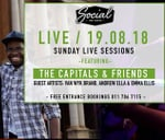 Social Live Sunday Sessions - The Capitals with friends : Social on Main