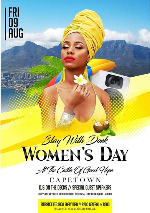 Funworld Inflatables: Slay With Doek Womans Day Celebration