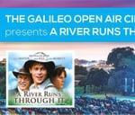 Open Air Cinema - A River Runs Through It : Knorhoek Wine Farm
