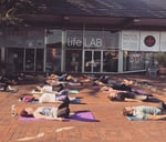 Sunrise Yoga in the lot : Lifelab