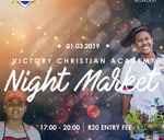 Victory Night Market : Victory Christian Academy. La Lucia, Durban
