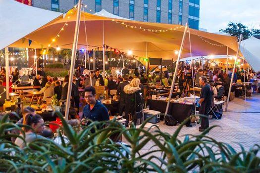 Summer loving at Century City night market! : Century City Natural Goods Market