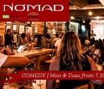 Comedy at Nomad : NOMAD bistro & bar